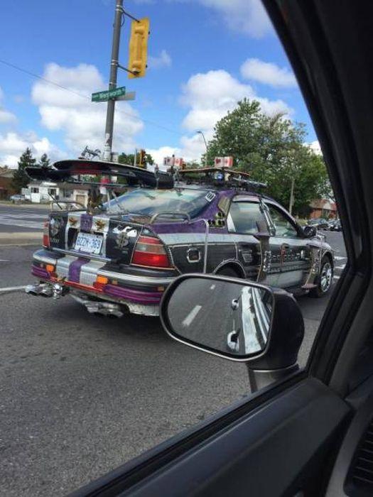 Странные автомобили на дорогах (43 фото)