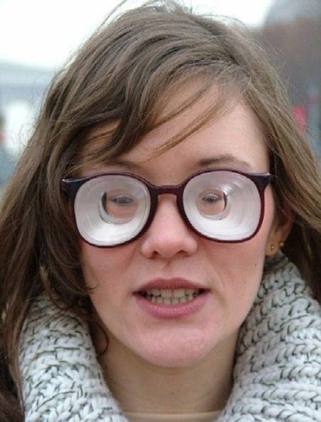 Очки с линзами -20 диоптрий (3 фото)
