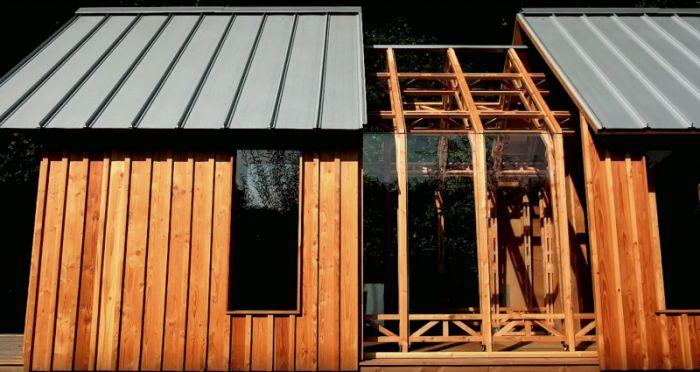 Многофункциональный домик (8 фото)