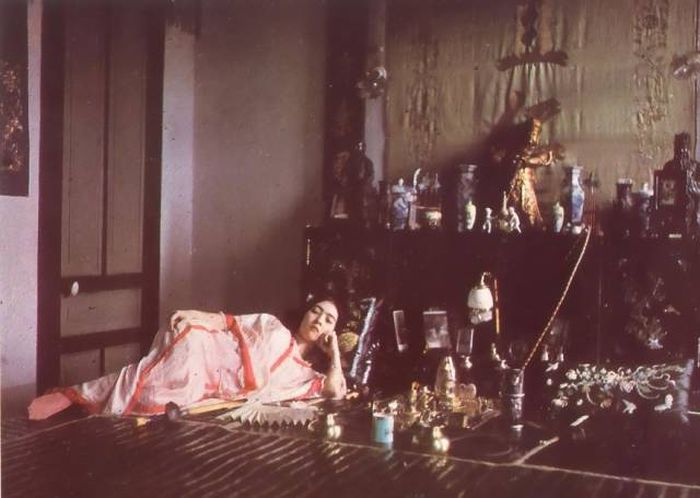 Одни из первых цветных фото (40 фото)