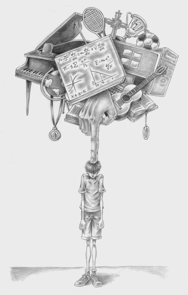 Современное общество в рисунках Аль Маргена (30 рисунков)