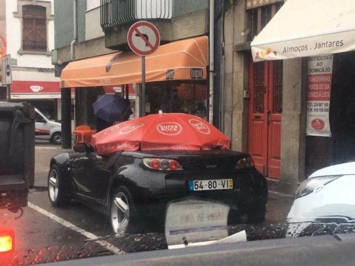 Автомобильный юмор (25 фото)