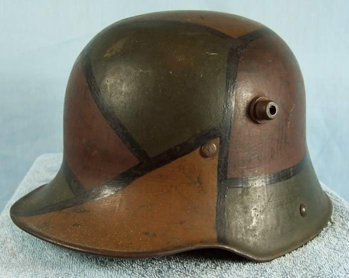 «Рогатые» каски немецких солдат (5 фото)