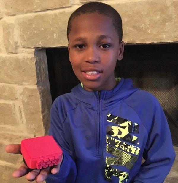 10-летний мальчик работает над устройством, которое предотвратит гибель детей, оставленных в автомобилях (4 фото)
