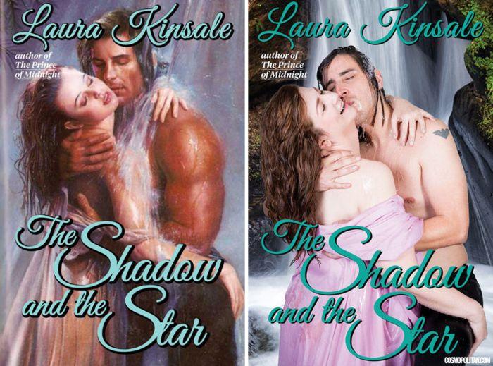 Фото на основе обложек любовных романов (9 фото)