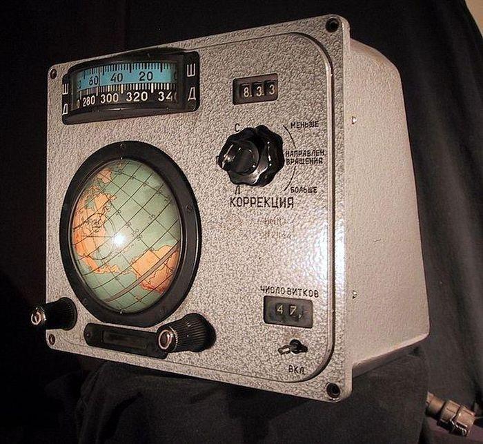 Навигационное оборудование космического корабля Восход (4 фото)