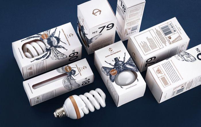 Упаковку лампочек белорусского дизайнера высоко оценили на Каннском фестивале рекламы (4 фото)