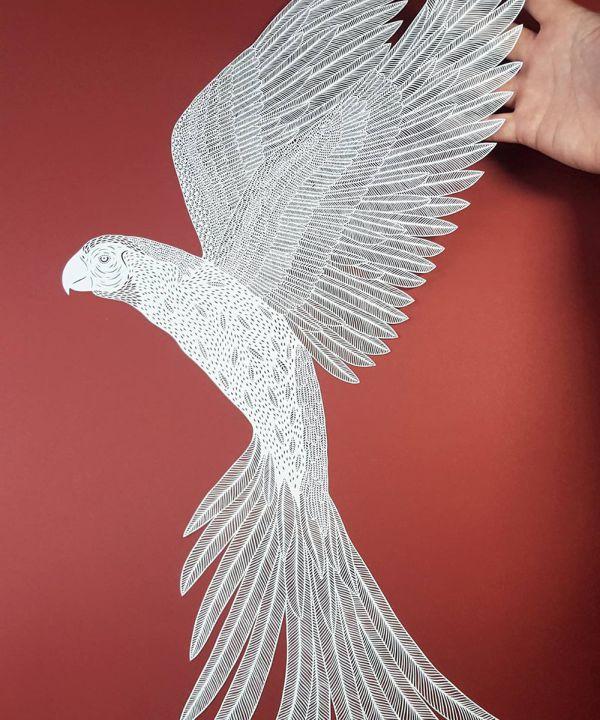 Скульптуры из бумаги (15 фото + видео)