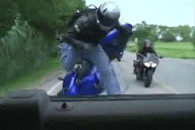 Плохие водители (20 гифок)