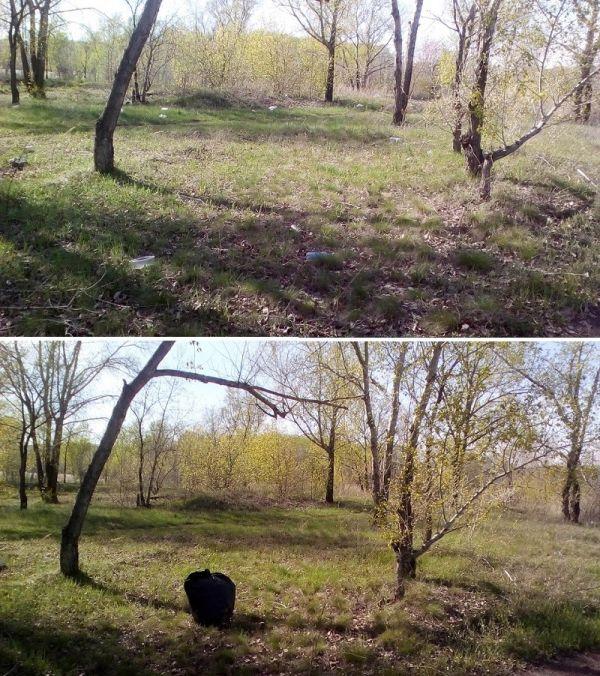 Челябинский супергерой Чисто Мэн и его борьба с мусором (11 фото)