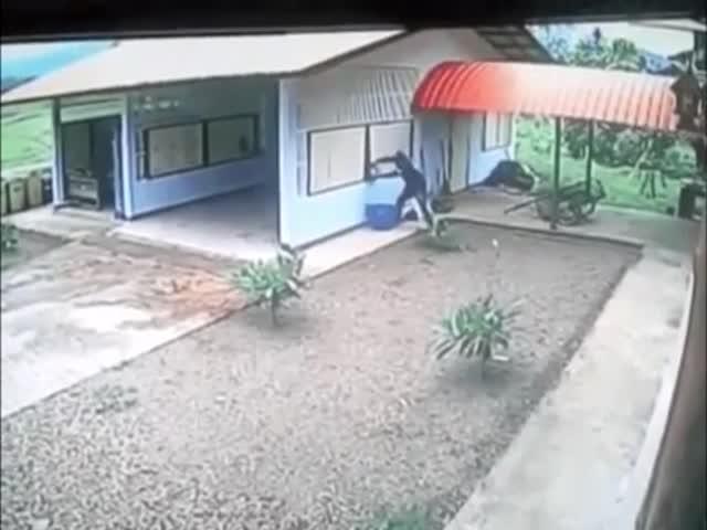 Глупый грабитель