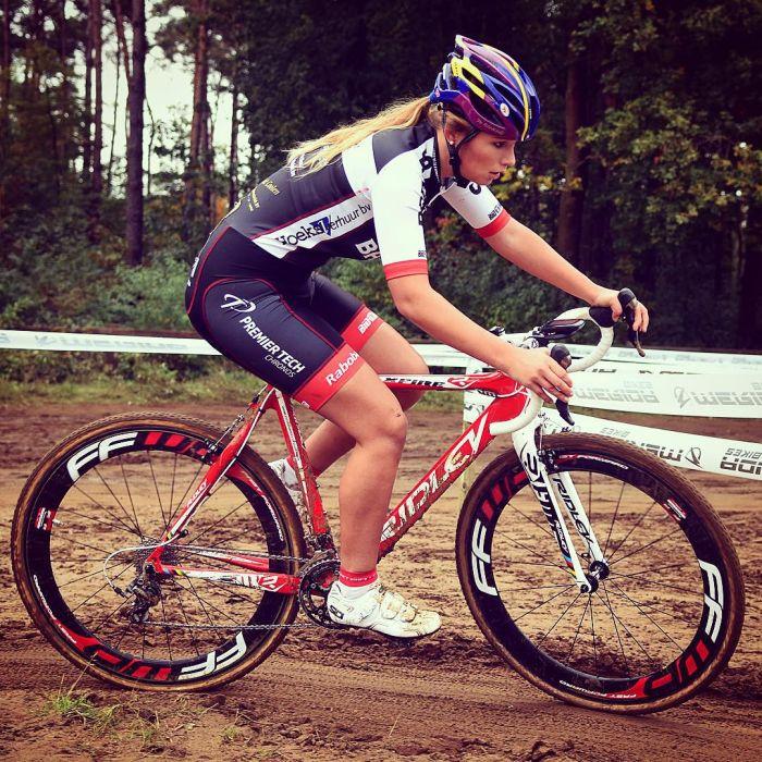 Пак Мунен - очаровательная велосипедистка из Голландии (12 фото)