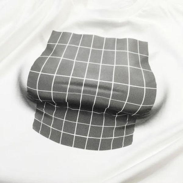 Женская футболка с эффектом большого бюста (5 фото)