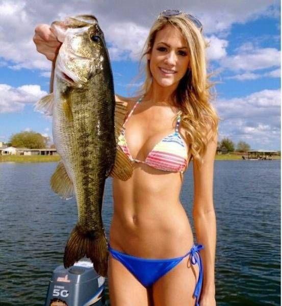 леди рыбак