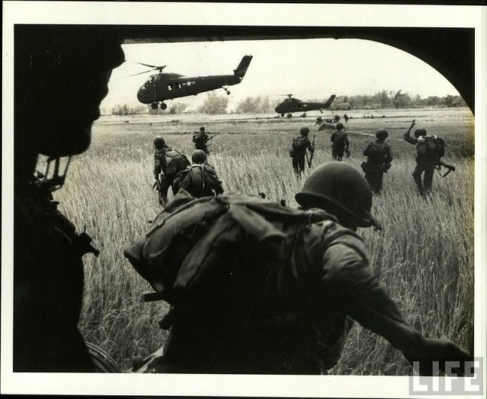 войны шокирующие фото вьетнамской