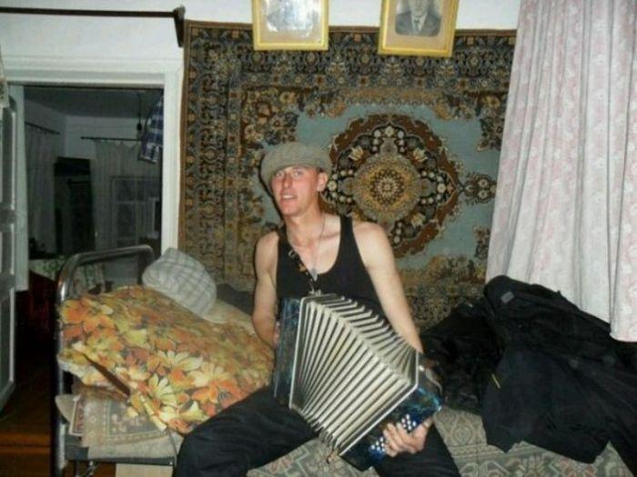Ностальгические фото с коврами (27 фото)