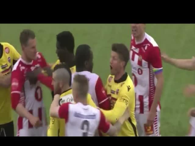 Суровый норвежский футбол