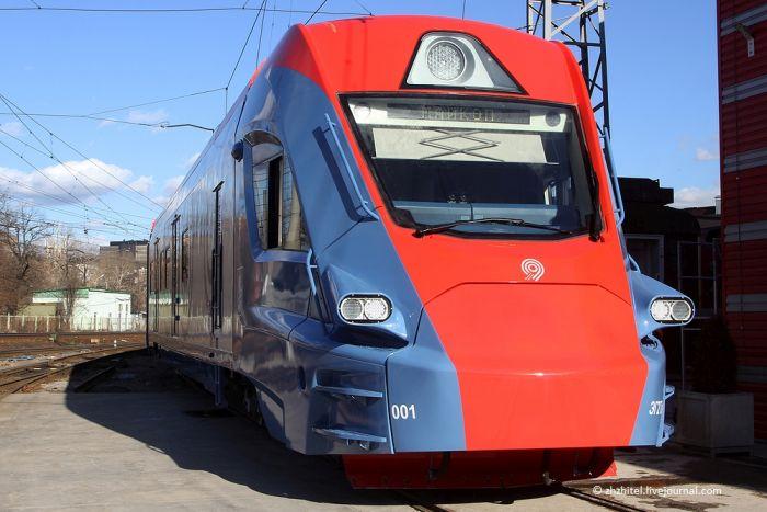 Новый электропоезд «Иволга» (2 фото)