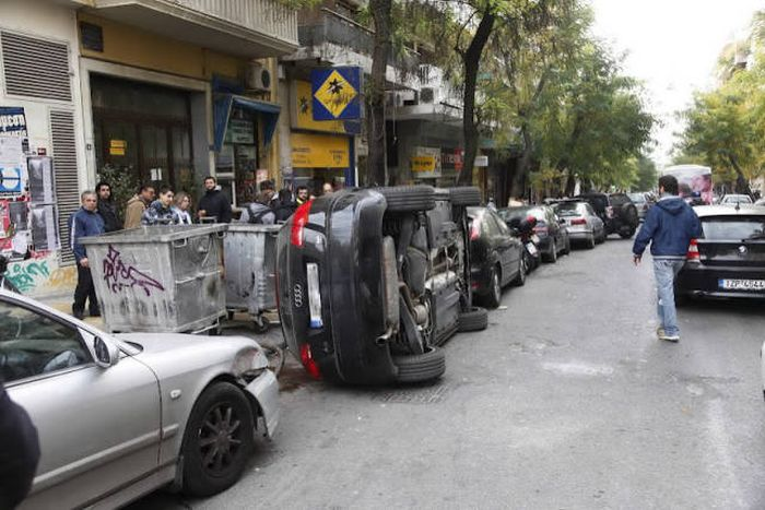 Месть за неправильную парковку (34 фото)