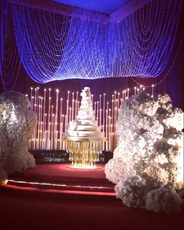 Шикарная свадьба дочери Эльдара Османова и сына Альберта Авдоляна в Лос-Анджелесе (12 фото + 2 видео)