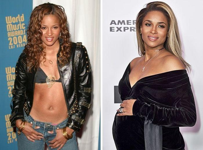 Популярные исполнители тогда и сейчас (11 фото)