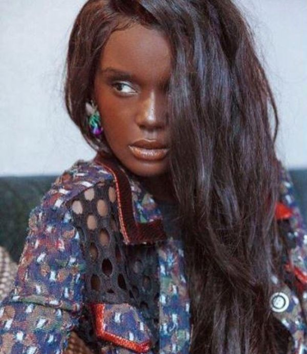 Даки Тот - темнокожая модель с кукольной внешностью (19 фото)