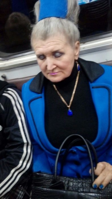 Стиляги московского метро (31 фото)