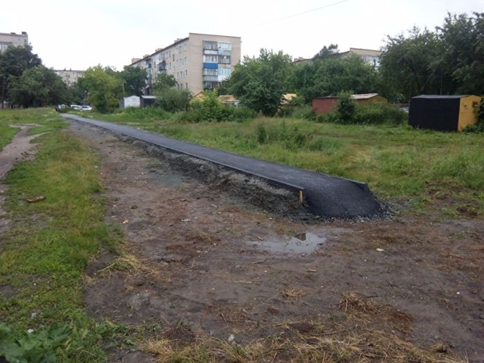 В Чебаркуле появился «путь в никуда» (3 фото)