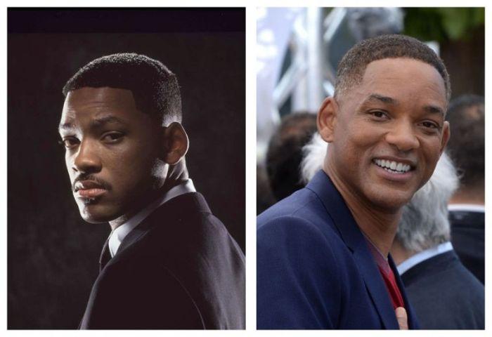 «Люди в черном»: тогда и сейчас (7 фото)