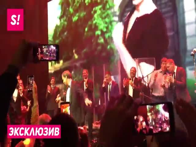 Танец Аркадия Дворковича на свадьбе Александра Овечкина