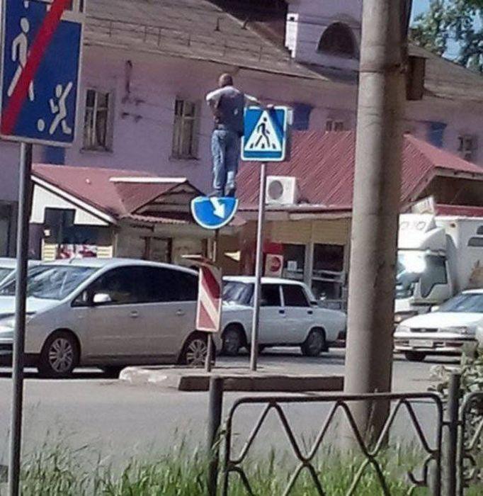 Фото, которые возможно было сделать только в России. Часть 75 (36 фото)