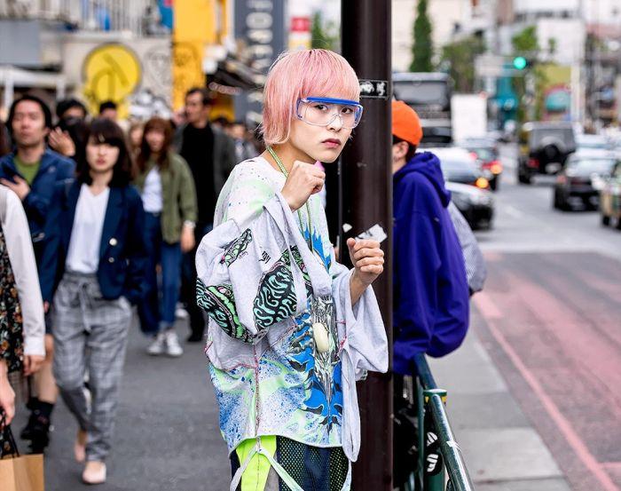 Модники на улицах Токио (35 фото)