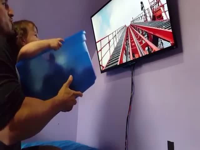 """""""Виртуальная реальность"""" для дочери"""