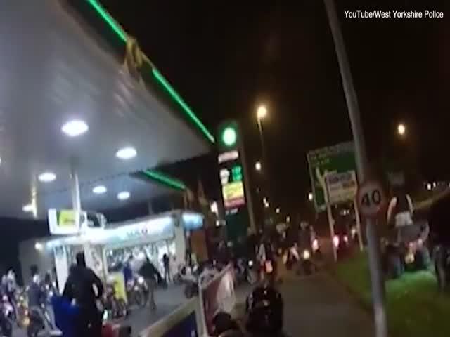 В Великобритании наказали участников мотоциклетного хаоса