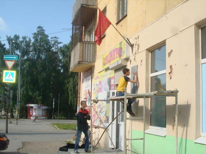 Школьники из Верхней Пышмы реставрируют заброшенные памятники героям ВОВ (13 фото)