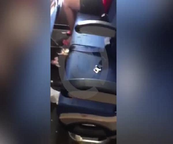 Пьяный дебош российского туриста в самолете