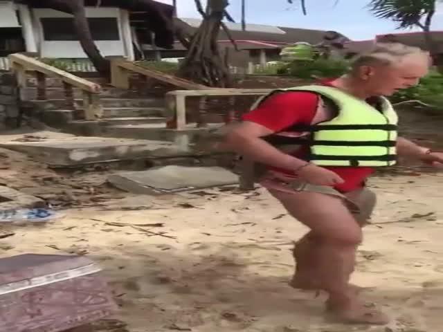 Смертельное падение австралийского туриста
