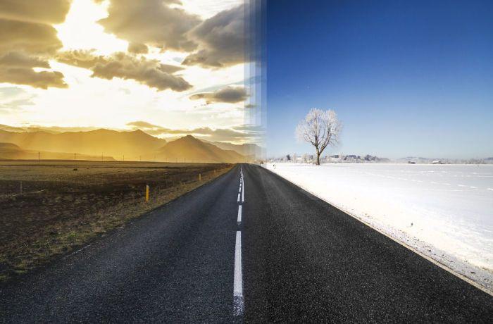 Поразительные сходства разных уголков Земли (12 фото)
