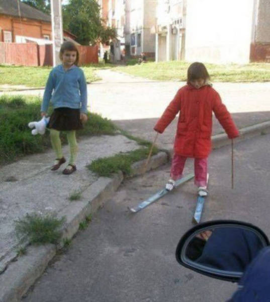 Фото, которые возможно было сделать только в России. Часть 76 (38 фото)