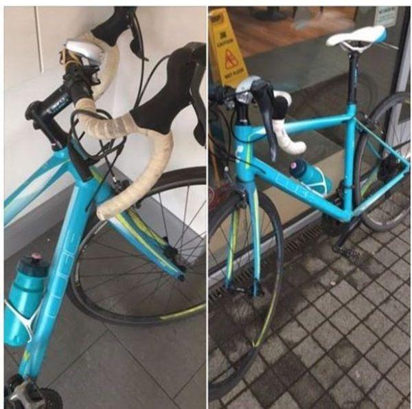 Девушка угнала свой же украденный велосипед (3 фото)