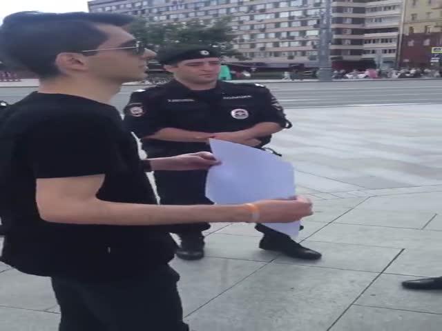 Мгновенная реакция правоохранителей