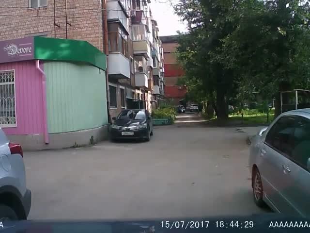 Водитель с хорошей реакцией