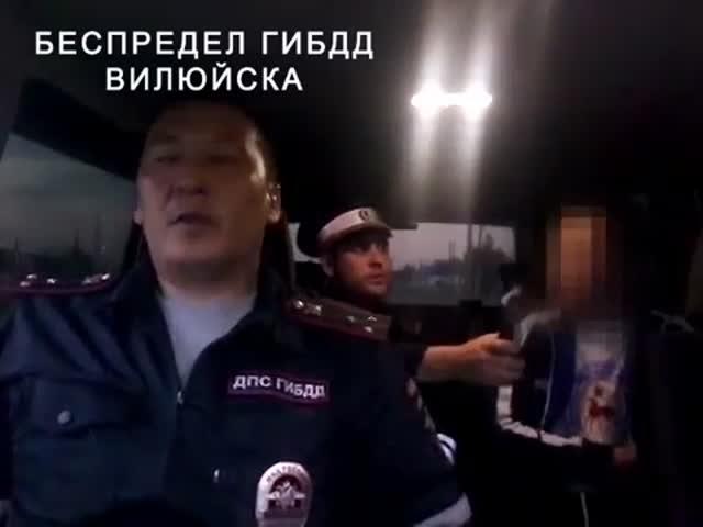 В Якутии инспекторы ДПС избили нетрезвого водителя