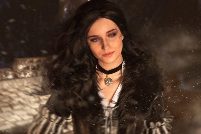 Косплей на девушек из вселенной «Ведьмака» (19 фото)