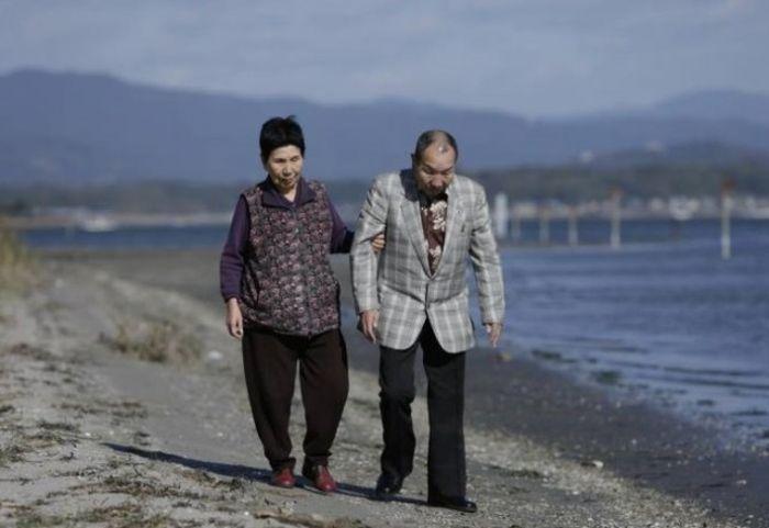 Пожилые сестра Хидеко и брат Ивао Хакамада