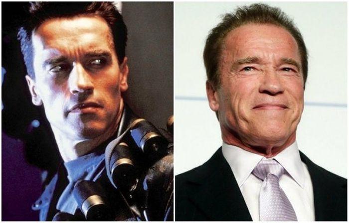 Любимые актеры тогда и сейчас (11 фото)