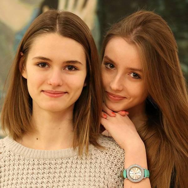 Милые девушки (50 фото)