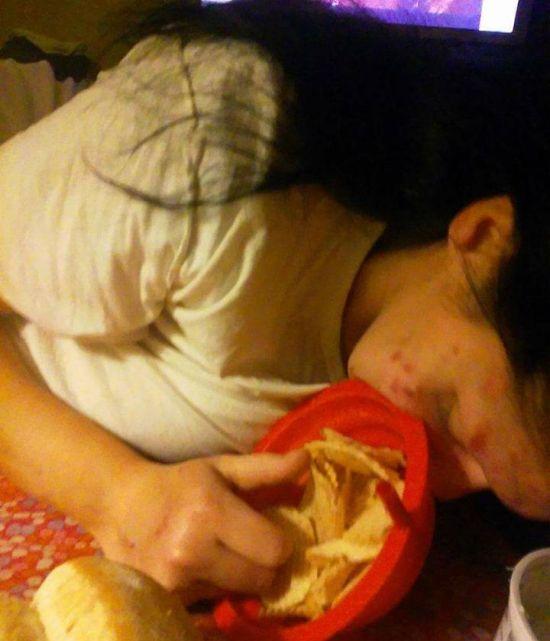 Бывшая наркоманка показала свои фото, чтобы предостеречь остальных от наркотиков  (7 фото)