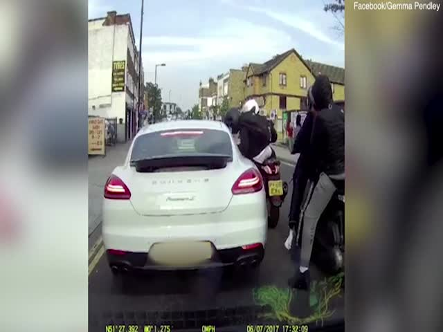 Ограбление автомобилиста в Лондоне