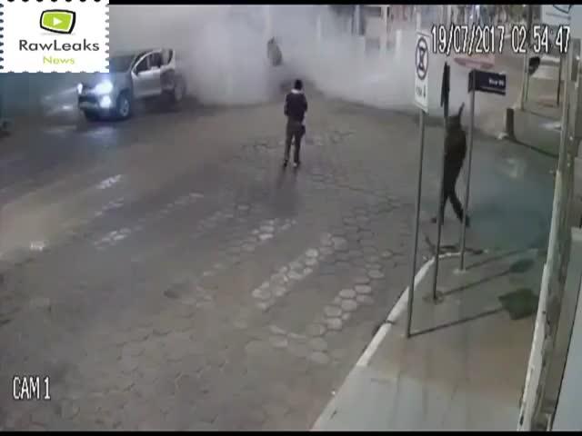 Ограбление банка по-бразильски